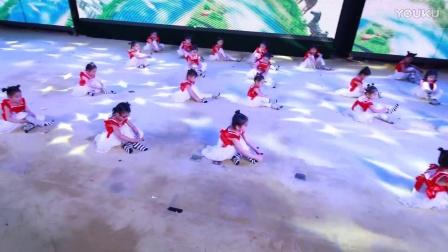 """银河艺术""""2017少儿才艺大赛""""榆林选区《让我自己来》表演单位:横山区百灵鸟舞蹈艺术培训学校"""