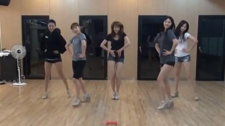 【mv】韩国新女子组合 EXID 新单.练习室舞蹈:I Feel Good(官方*高清版)
