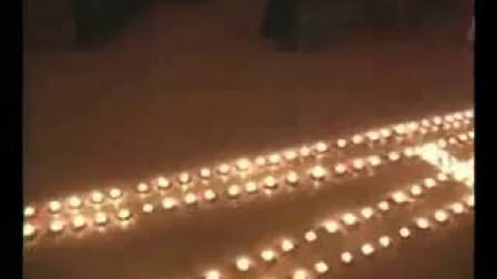 蜡烛给人不一样的感觉  温馨视频