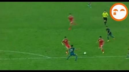 国足6-1新加坡集锦