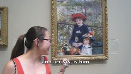 跟笑笑 游芝城 学美语 之四芝加哥艺术博物馆