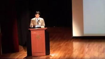 任剑辉研究计划 2011年11月活动 第一节 致辞 Activity Nov 2011 Part 1