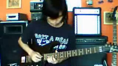 """原创摇滚乐队""""楼下后门""""的吉他视频"""