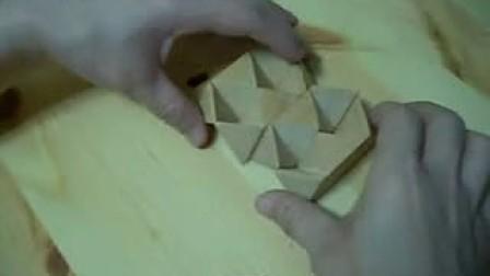鲁班锁 孔明锁 菱角球拆卸及安装