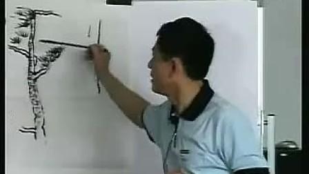高二美术国画松树高二美术优质课观摩视频专辑