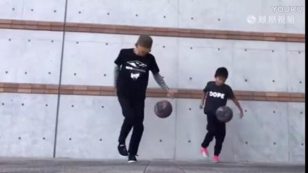 别人家孩子 这样的街球轮滑体操技术你会吗