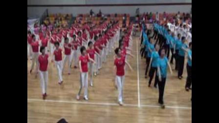 上海师大老年大学健身舞《大花轿》20110613汇演