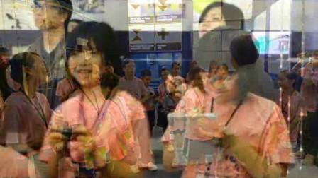童建低碳香港計劃的小記者訪問天文台台長