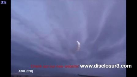 """2011年11月20日俄罗斯""""燃烧""""的UFO"""