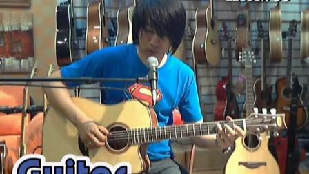 左轮吉他初级入门教程33《人人可以弹吉他》第33课《指弹吉他生日快乐》