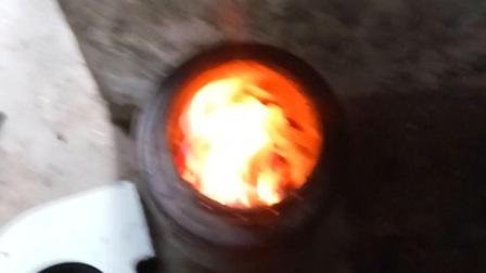 柴火炉 下吸式反烧气化炉qq815034533