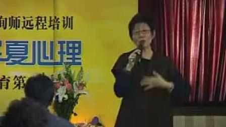 华夏心理网 吴熙琄老师的叙事疗法视频录像