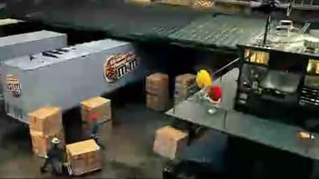 MM巧克力豆广告(变形金刚版)