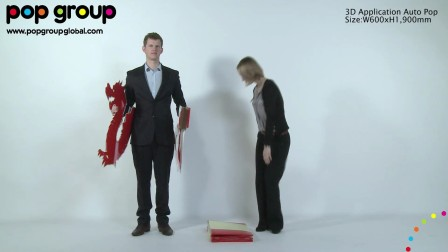 3D Application Auto POP, by POP Group!