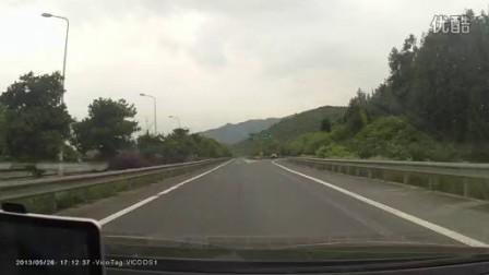 浙A.EQ321在G320高速S32高速岔口违规倒车www.doshow.com.cn