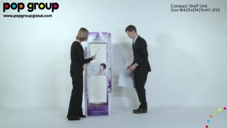 Compact shelf unit, by POP Group!