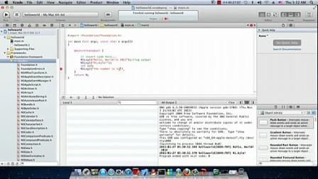 1.北风网ios预科班Objective-C详解_oc_helloword以及数据类型