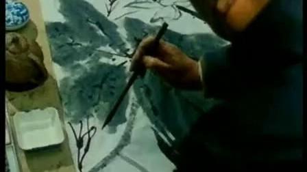 写意花鸟画示范:荷花画法:中国书画现代远程教育中心—国画系列讲座