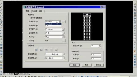 CAD文字输入和表格创建