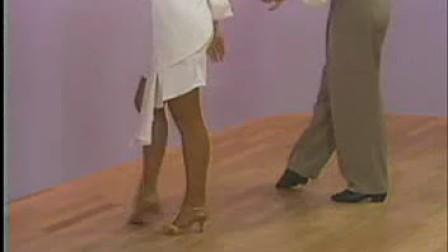 恰恰舞教学(6)后退锁步