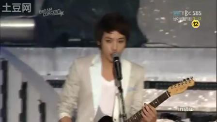 100530 SBS dream concert CNBLUE - 孤独啊