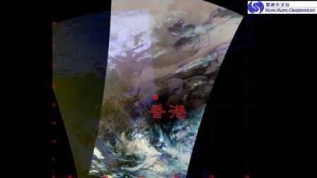 極地軌道衛星圖像