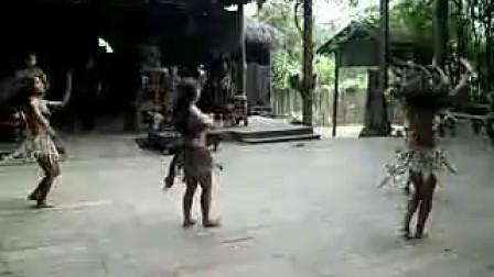 桂林原始部落野人美女表演