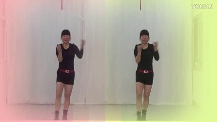 洛阳美天广场舞【站台 路灯下的小姑娘】雪妹编舞