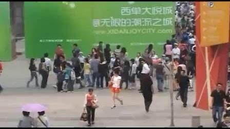 北京Michael Jackson歌迷5月15日西单快闪纪念