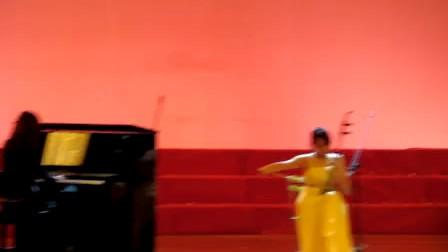 钢琴二胡舞蹈《风居住的街道》