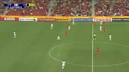罕见!国足半场围攻 沙特球员压力大界外球违例