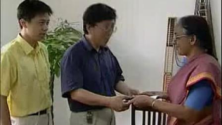 2003印度珠算朋友应邀来访