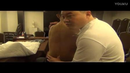坐位腰椎复位的演示——赵梓浩