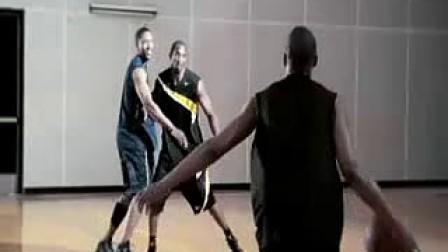科比教你打篮球之反手上篮