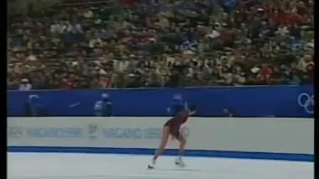 1998花样滑冰冬奥会.女单自由滑.陈露.梁祝