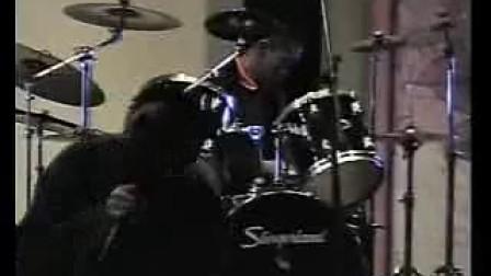 2008年乐手交流会 戴面具金属乐队