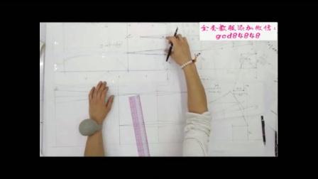服装设计裁剪工艺师学费多少钱1时装配领技巧教程1ET服装纸样打版制版视频教程