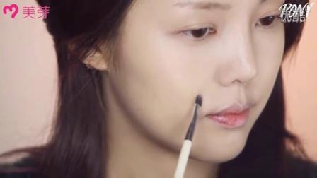 韩国彩妆女神pony化妆视频:DayeongKim-咖啡酒粉色妆容韩系化大眼妆