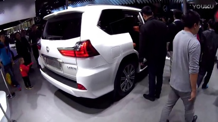 LX570|车展实拍雷克萨斯家族最新全尺寸豪华SUV
