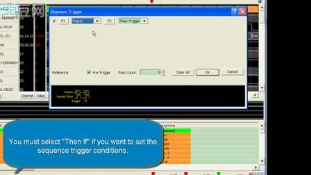 皇晶科技 邏輯分析儀-語句式觸發設置方法
