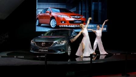 2015 6月沈阳车展车模舞蹈
