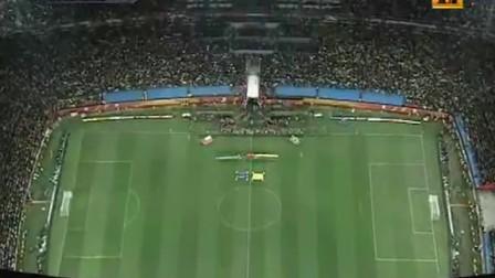 全场演奏巴西国歌 八分一决赛巴西VS智利