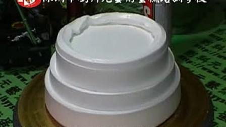 生日蛋糕裱花制作视频刘科元艺术蛋糕