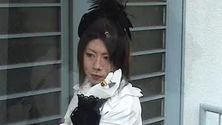 日本男扮女装lolita模特儿图片