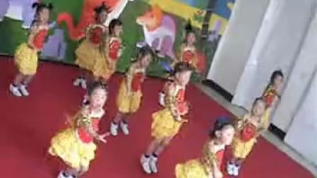 新乡市凤泉区启蒙幼儿园 好一朵小兰花 六一节目成品舞 幼儿舞蹈自编自导