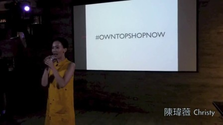 陳瑋薇 Christy  ZALORA Party 主持