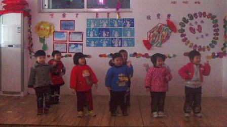 新泰市蓝天幼儿园小托班班元旦家园联欢会4