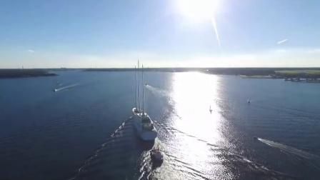 世界上最大的帆船游艇A