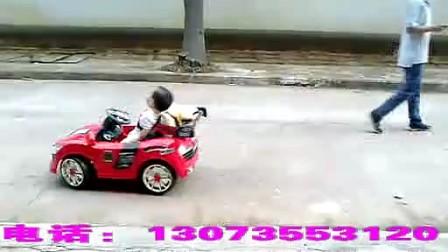 儿童电动车奥迪儿童车带遥控四轮小孩玩具车宝宝可坐电瓶汽车双驱