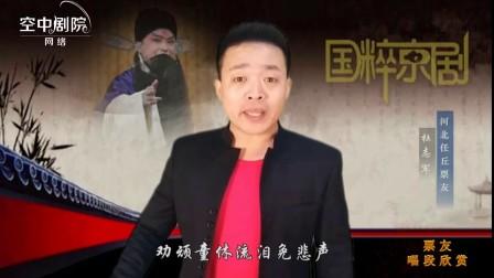 京剧《打严嵩》忽听万岁宣一声      演唱:杜志军    河北任丘票友